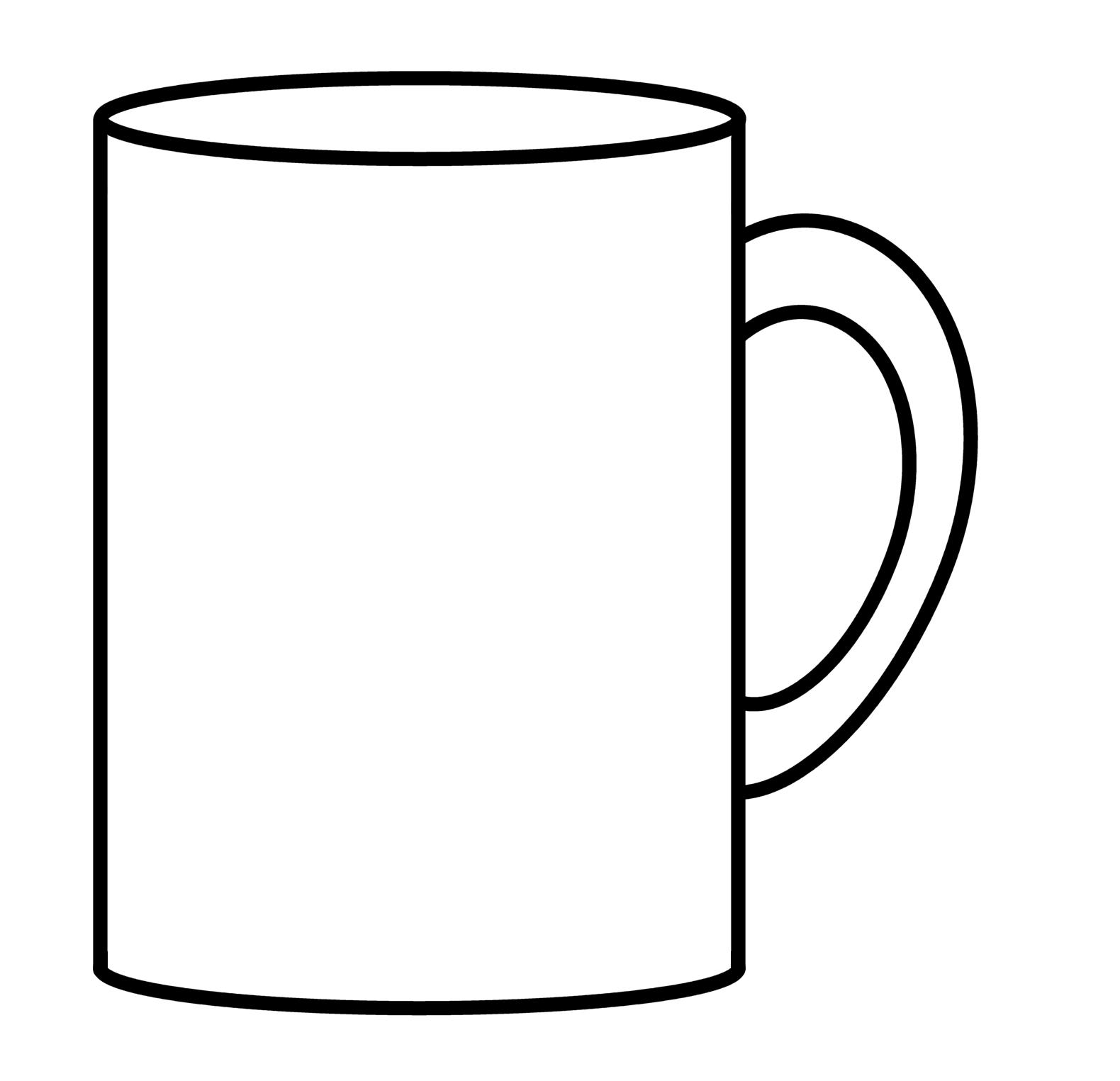 Drawn mug Cup To Draw To Coffee