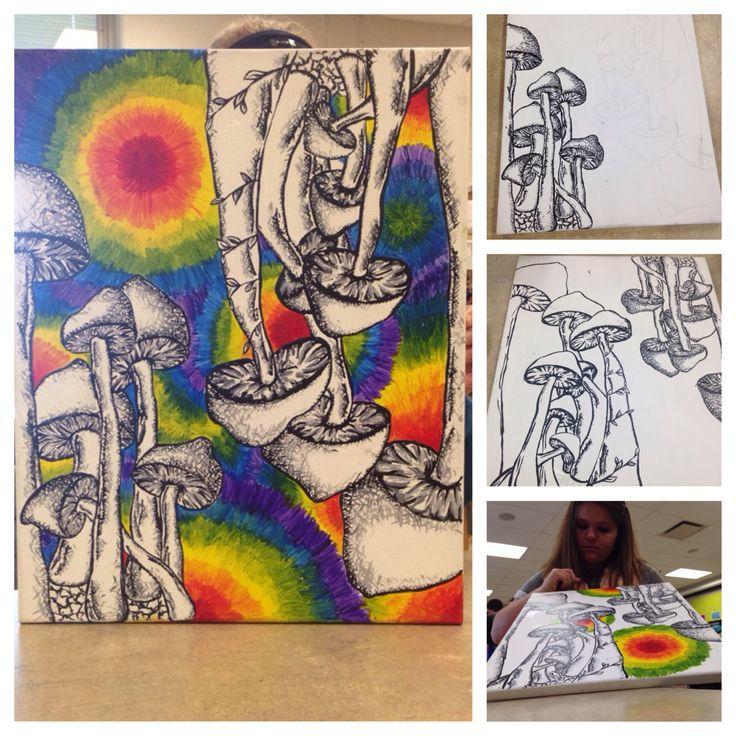 Drawn triipy mountain Hippy Pinterest 25+ ideas hippie