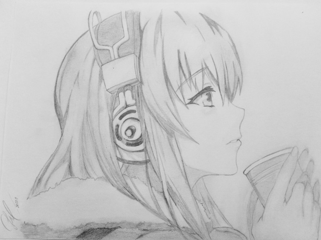Drawn music anime Drawing best images about