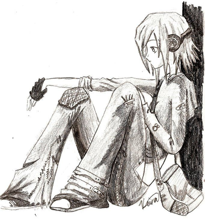 Drawn music anime Music girl n Anime about