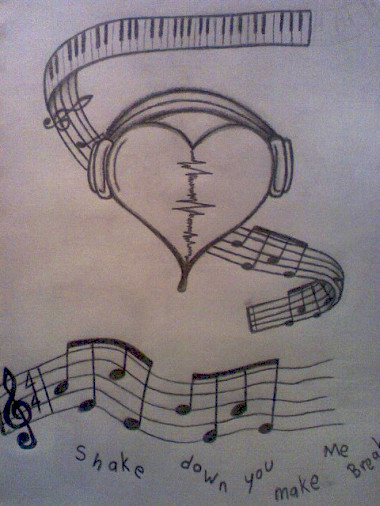 Drawn music awesome Rain color Find Picture this
