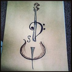 Drawn music awesome Piano Adrianna  Cello Heart