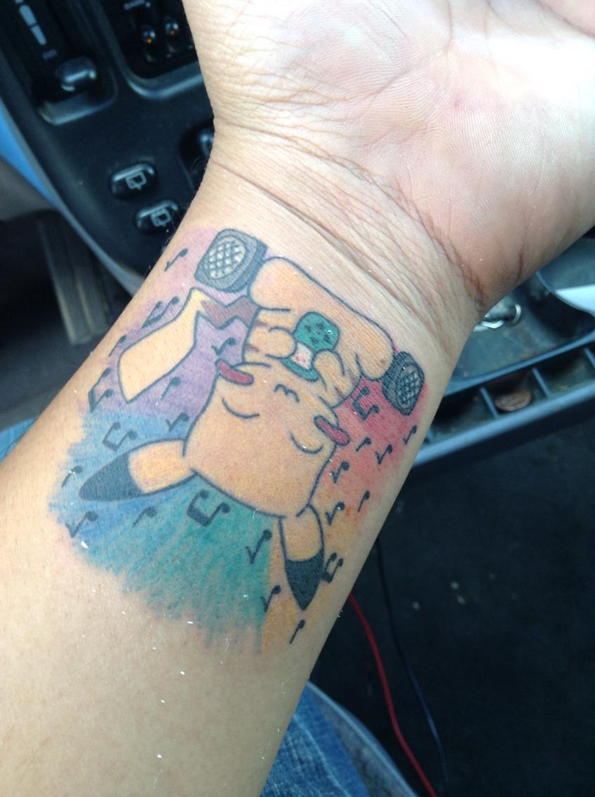 Drawn pikachu esay Tattoo! pikachu by an