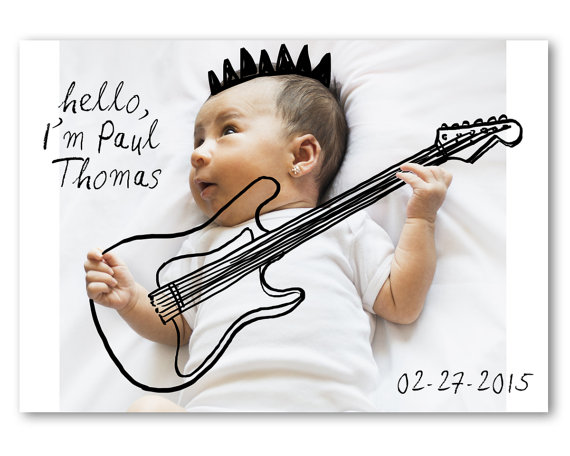 Drawn music baby  on your you'd BIRTH