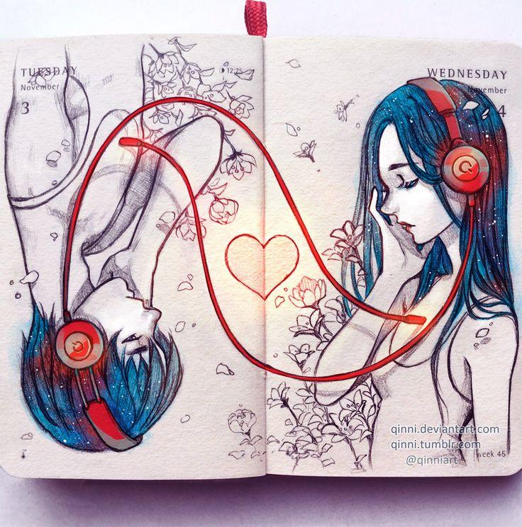 Drawn musician dress tumblr Heart Pinterest artwork Best ideas