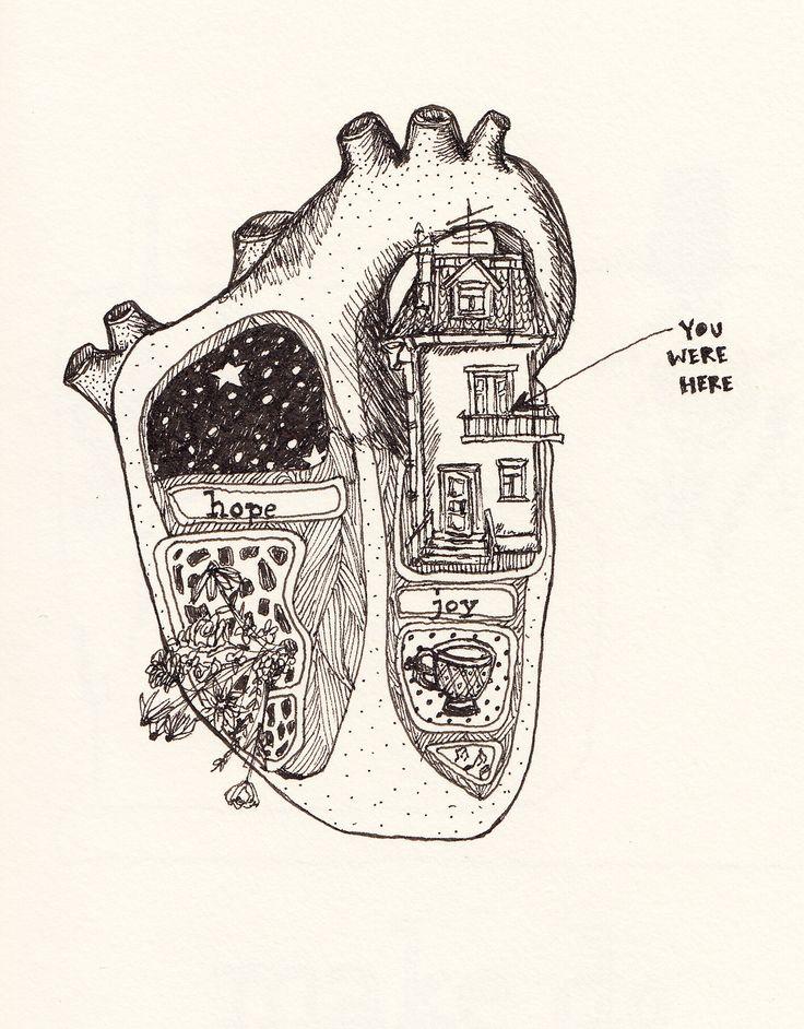 Drawn music beautiful heart Ideas 25+ instead heart so