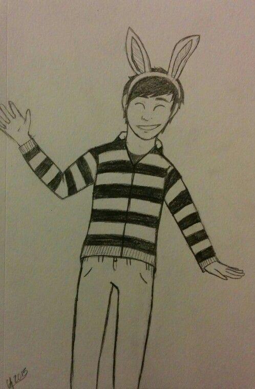 Drawn music bunny By Wentz (drawn that one