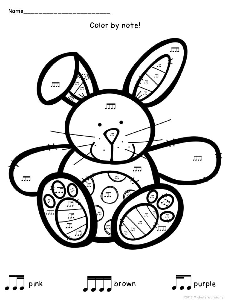 Drawn musical bunny Music: on Pinterest A about