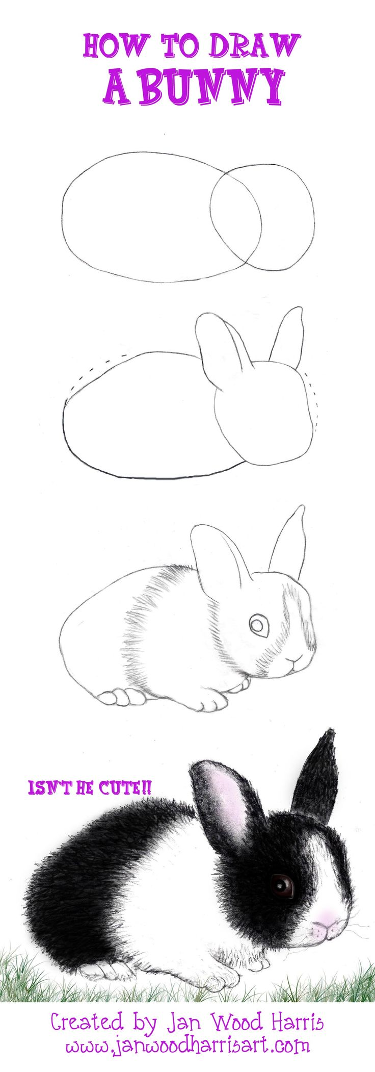 Drawn music bunny Bunny tutorial 25+ How to