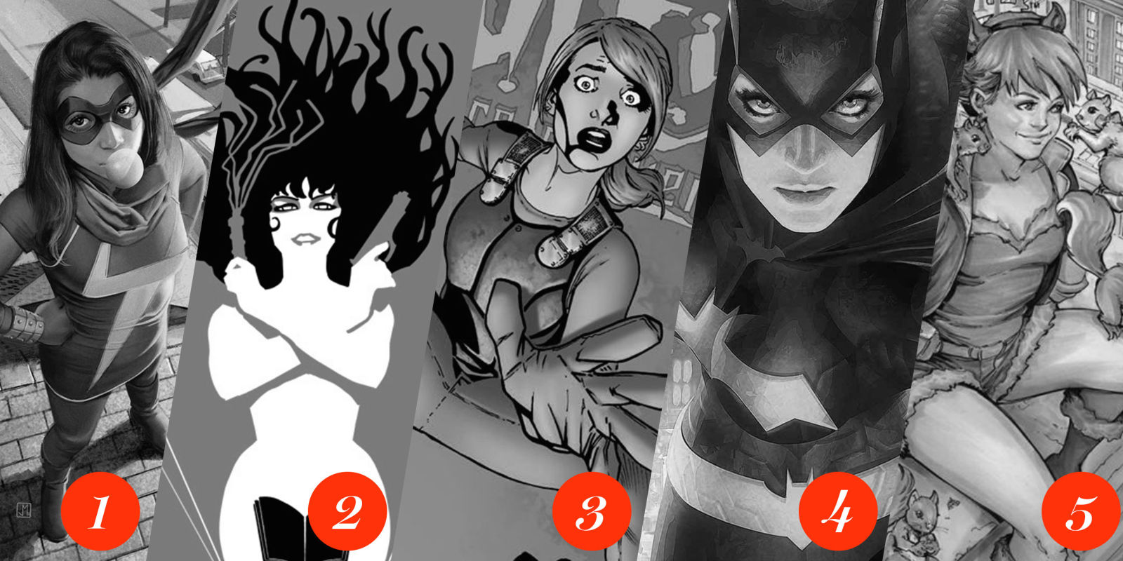 Drawn music comic book character Ranking Superheroes Best Female Feminist
