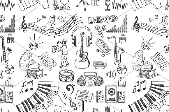 Drawn music creative Hand music ~ drawn drawn