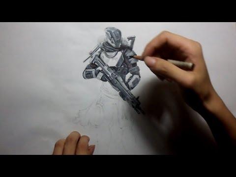 Drawn music destiny Titan  YouTube Destiny: Drawing