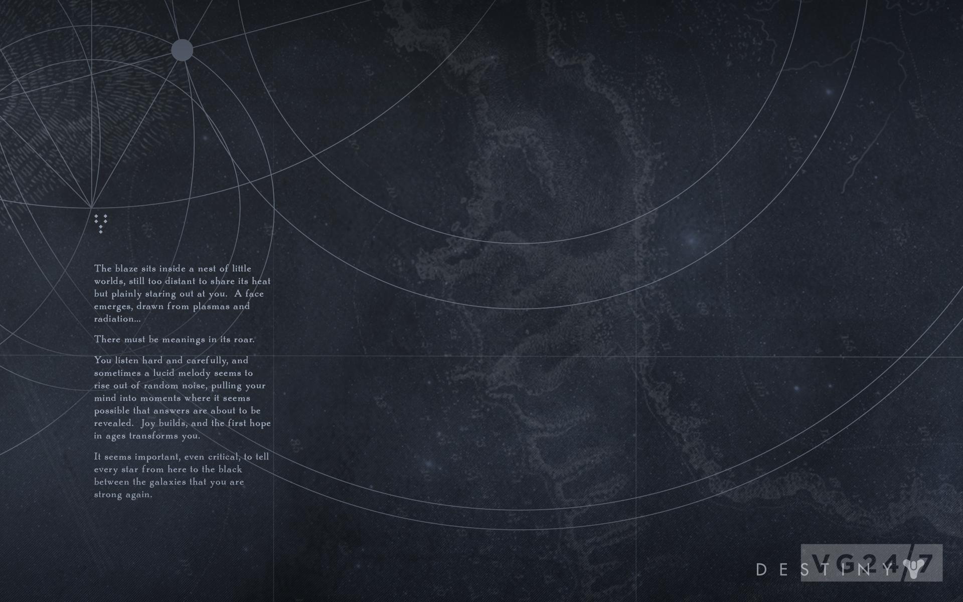 Drawn music destiny One game Destiny ARG wallpapers