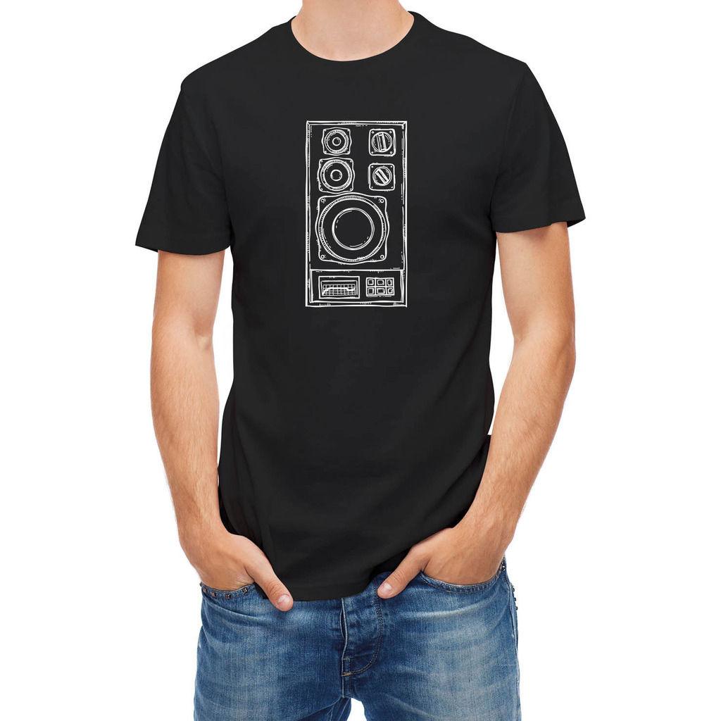 Drawn music dj speaker Shirt Pure Music Hand Online
