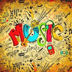 Drawn music doodle art On @DeviantArt MUSIC  deviantart