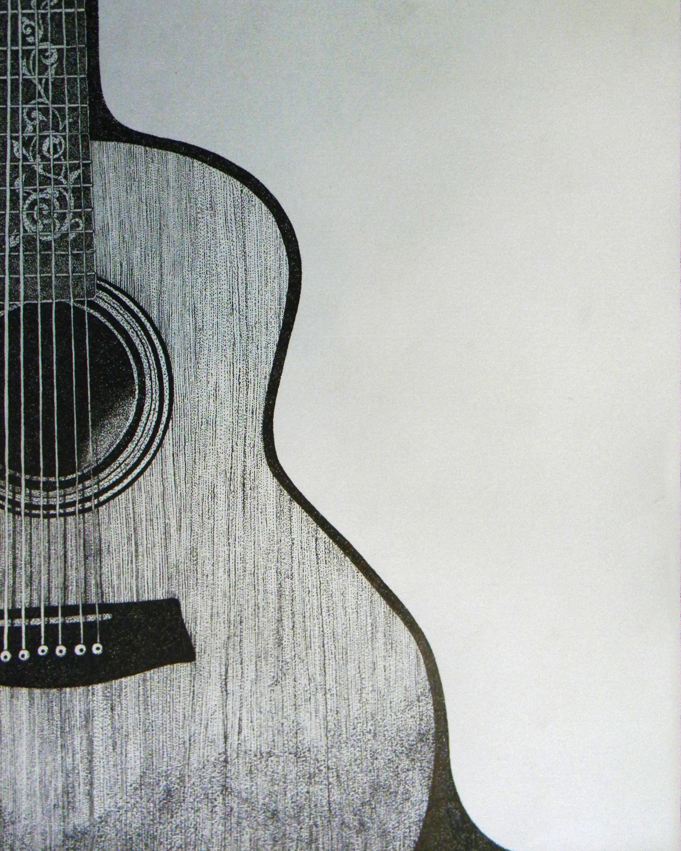 Drawn musician dress tumblr Guitar Pencil Art of drawing