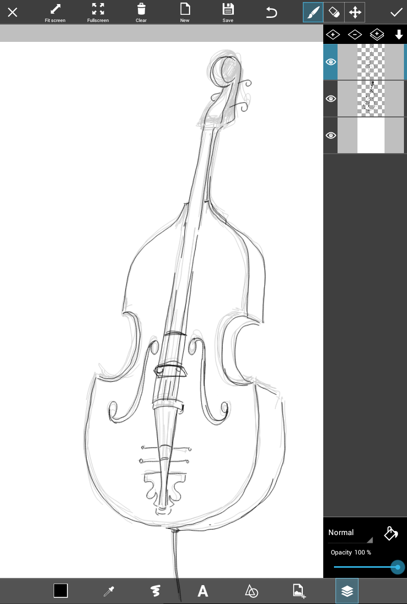 Drawn music easy Instrument PicsArt are + a