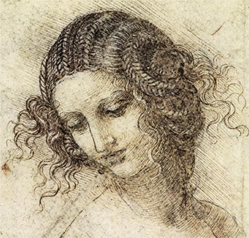 Drawn music leda Ink TRUE Leonardo cross art
