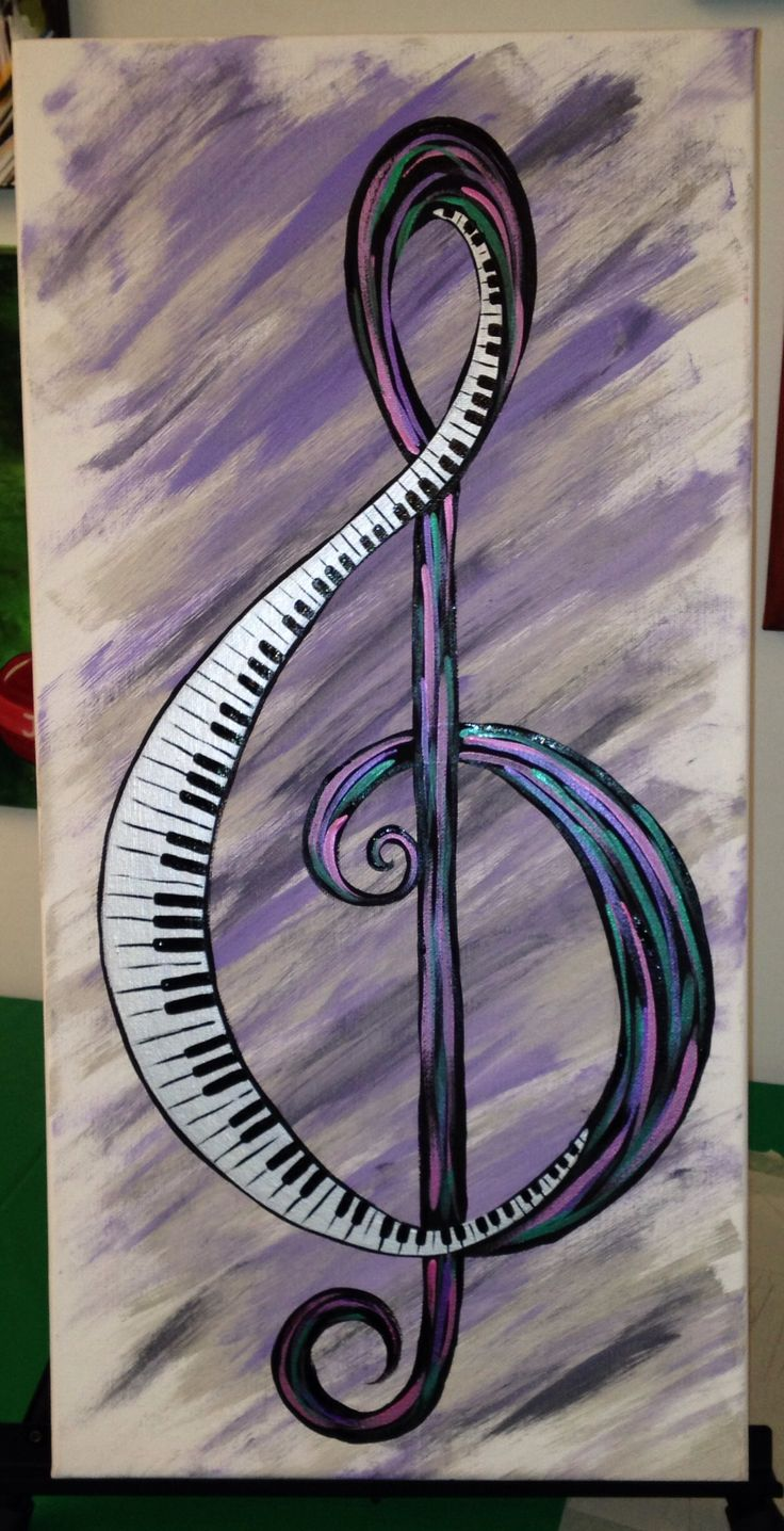 Drawn music notes child On 25+ ideas painting Music