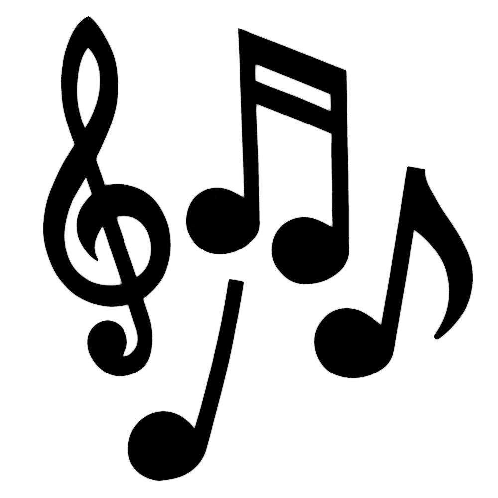 Musician clipart banquet Barbie Notes Musical Musical Silhouette
