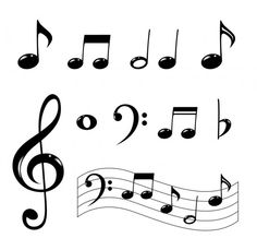 Drawn musician music note How  decorations Birthday To
