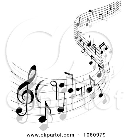 Drawn music ribbon Notes 25+ 13 Music Best