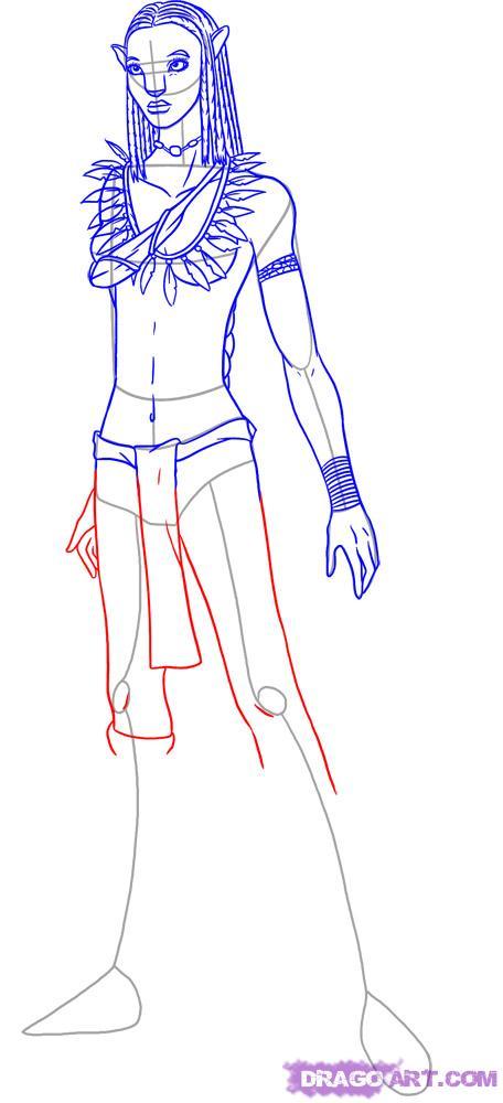 Drawn music notes avatar Neytiri How by  Movies