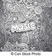 Drawn music notes back to school Music Vector Notes Sketchy Sketchy