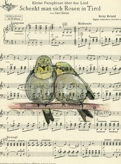 Drawn music paper Painting Vintage this Of Examples