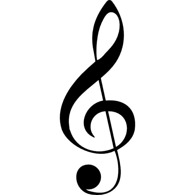 Drawn music notes beautiful music Clef musical Icons note Free