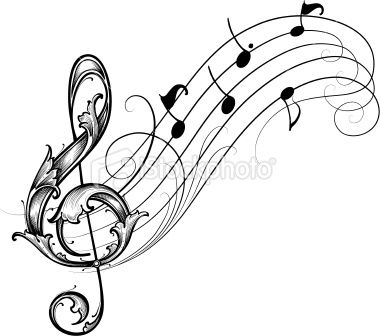 Drawn music notes beautiful music Staff ideas images staff choir's