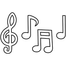 Drawn music notes bubble Musical and The Corchea Find