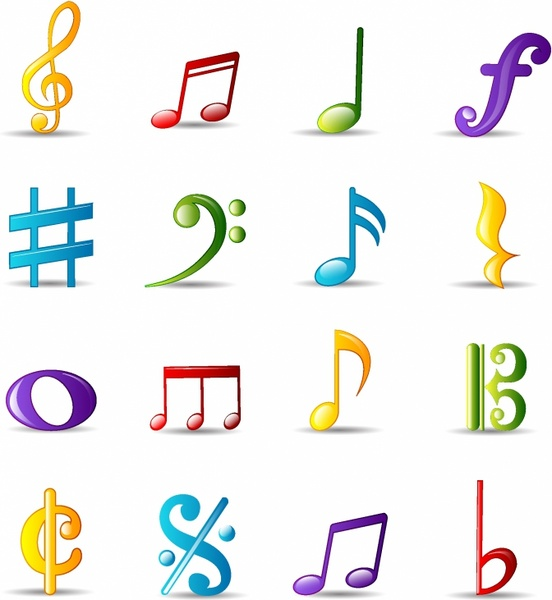 Drawn music notes bubble Vector Musical free (8 Bubble
