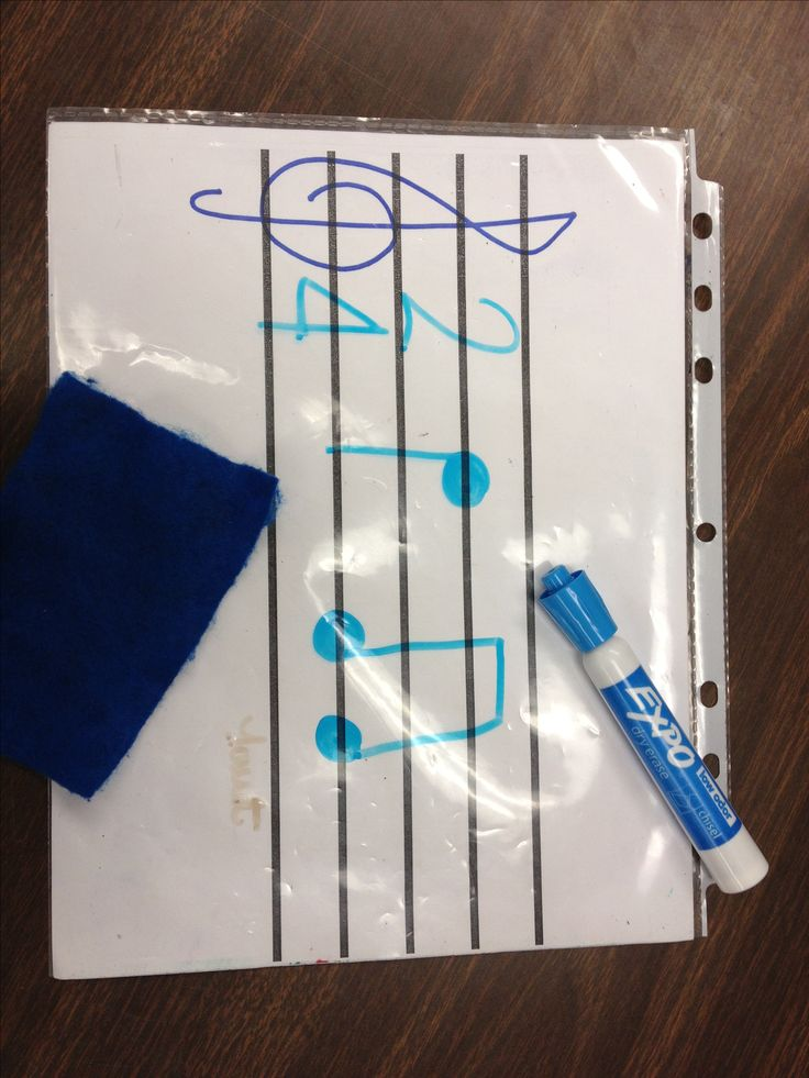 Drawn music notes child Music Music images more Kids