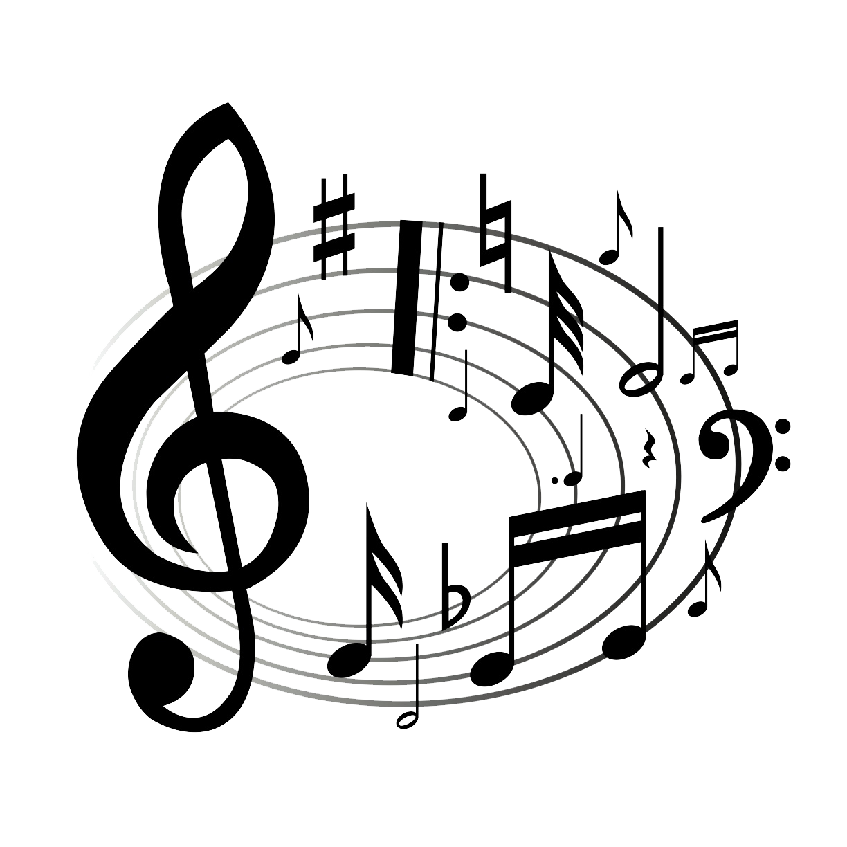 Musical clipart transparent #8