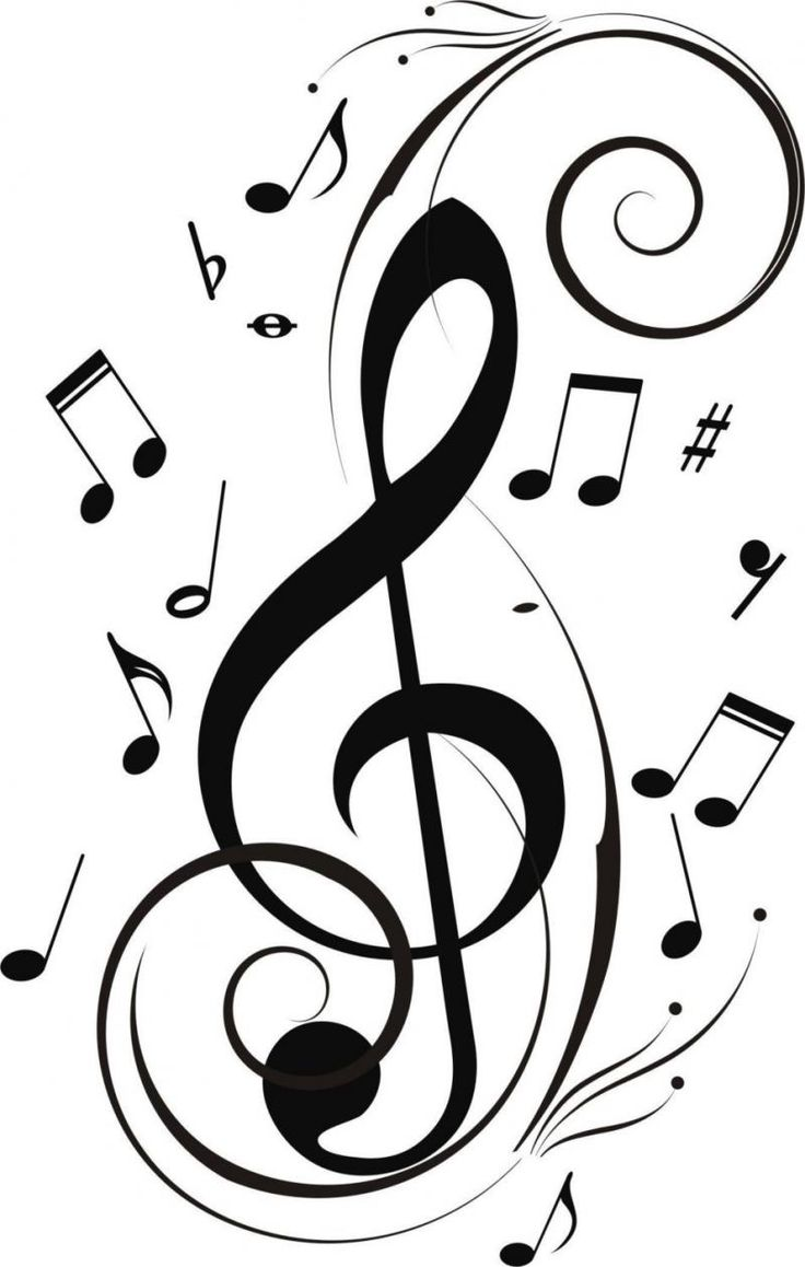 Drawn music notes creative music Card Music images Best Google