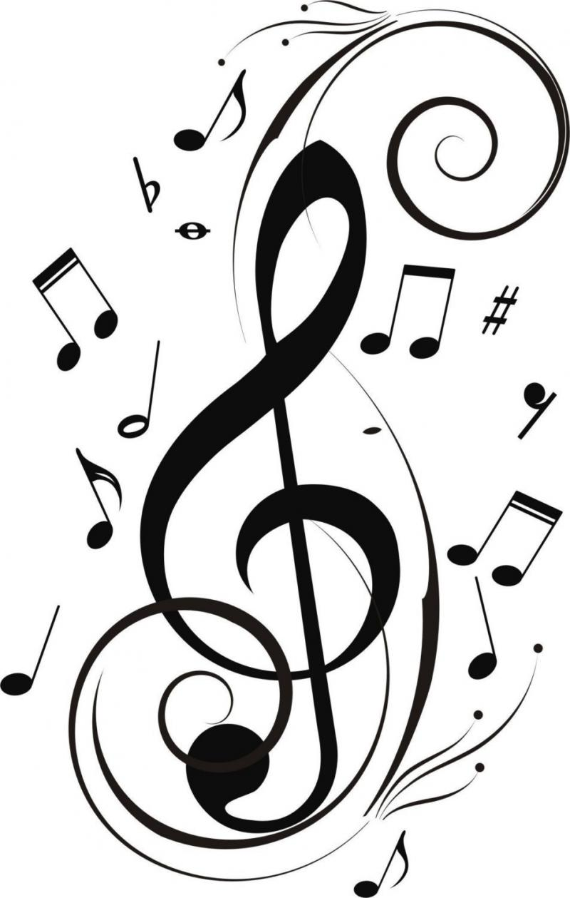 Drawn music notes cute Search Google Notes Music card