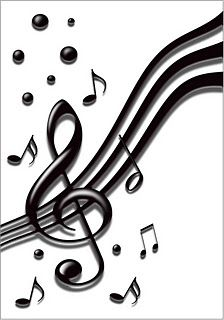 Drawn music notes easy  Montessori cards Music resource