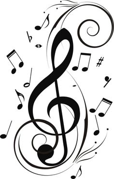 Drawn musician music note Music be notes be Notes