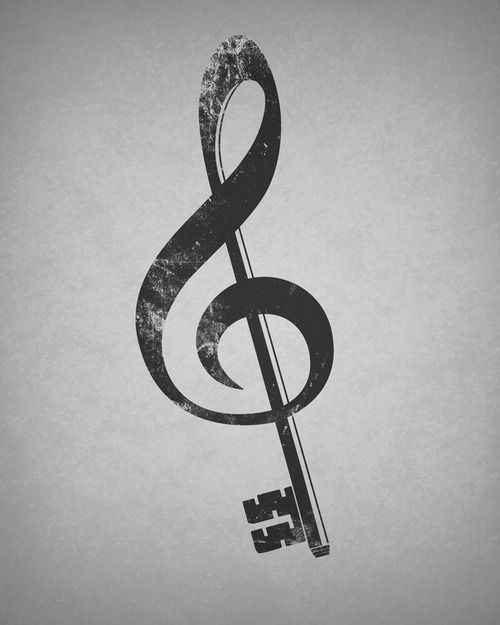Drawn music notes simple Be gotten tattoo I would