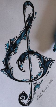 Drawn music notes little Note Music drawing want yet