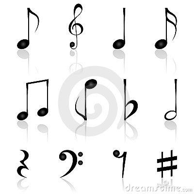Drawn music notes muscial Music Musical Musical notes music