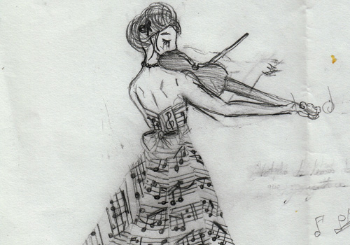 Drawn music notes music themed Outstanding 35 Music Notes Pictures