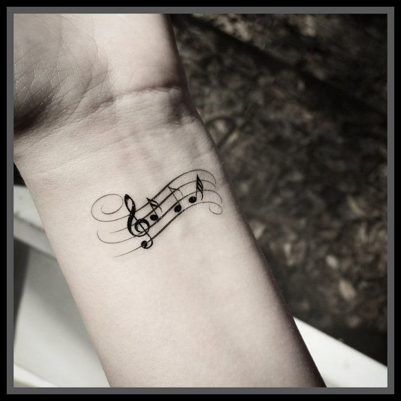 Drawn music notes not Pinterest Music The Music note
