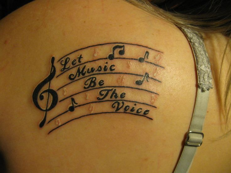 Drawn music notes not Notes images Love Music #TattooModels