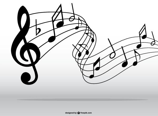 Drawn music swirl Art clipart Clip Clip Music