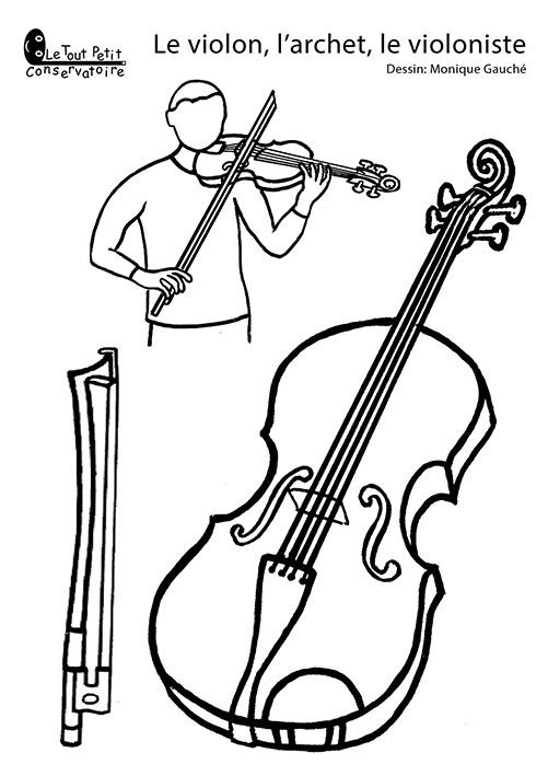 Drawn music notes old style Violon Music et violoniste notes