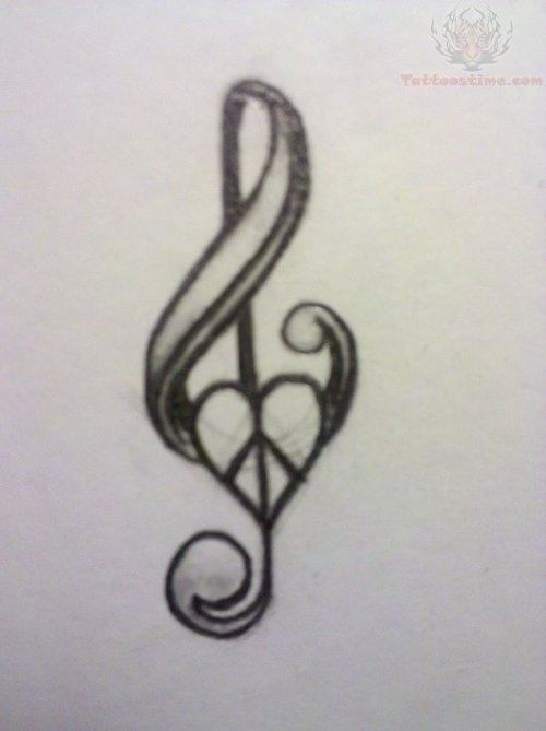 Drawn music notes pencil sketch On this and Music 72