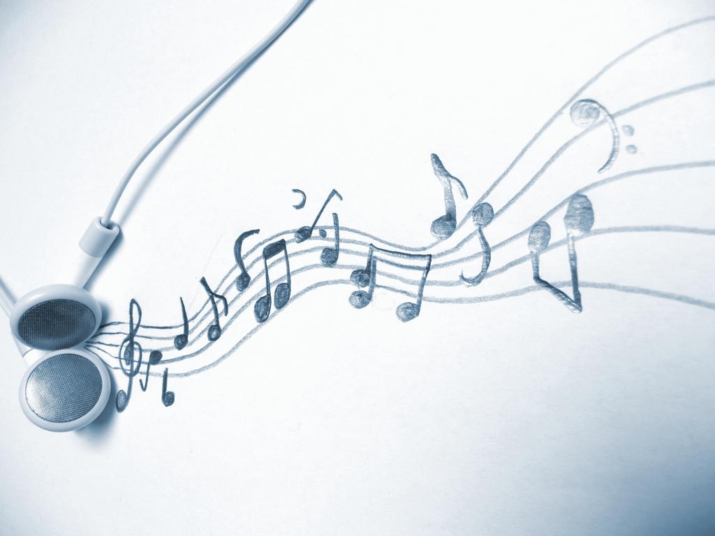 Drawn music notes rap music M… notation art music Music