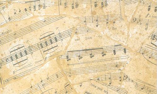 Drawn music notes retro Naldz Music Useful Free Brushes